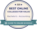 Ranked Among Best Online Accounting Bachelor's Degrees