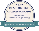 Ranked amount the best online software engineering bachelor's degrees