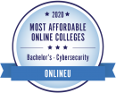 Ranked among the most affordable cybersecurity bachelor's degrees