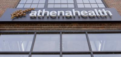 front of Athenahealth building