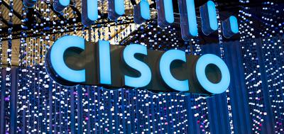 electronic Cisco sign